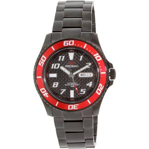 Precimax Men's Aqua Classic Automatic PX13224 Black Stainless-Steel Automatic Watch