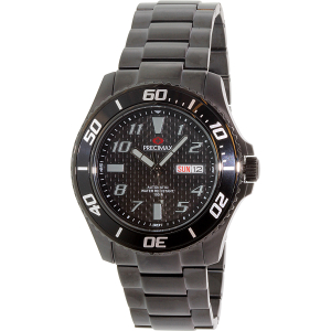 Precimax Men's Aqua Classic Automatic PX13226 Black Stainless-Steel Automatic Watch