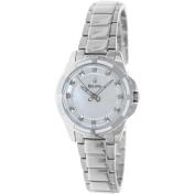 Bulova Women's Diamond 96P144 Mother-Of-Pearl Stainless-Steel Quartz Watch