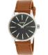Nixon Men's Sentry A1051037 Brown Leather Leather Quartz Watch - Main Image Swatch