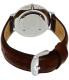 Daniel Wellington Men's Classic St. Mawes 0207DW Brown Leather Quartz Watch - Back Image Swatch
