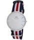 Daniel Wellington Men's Classic Canterbury 0202DW Blue Cloth Quartz Watch - Main Image Swatch