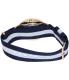 Daniel Wellington Men's Classic Glasgow 0104DW Blue Cloth Quartz Watch - Back Image Swatch