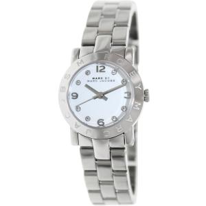 Marc by Marc Jacobs Women's Mini Amy MBM3055 Silver Stainless-Steel Quartz Watch