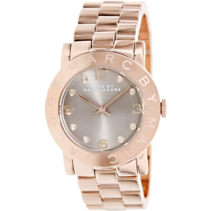 Marc by Marc Jacobs Women's Amy MBM3221 Rose-Gold Stainless-Steel Quartz Watch