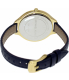 Michael Kors Women's Runway MK2285 Gold Leather Quartz Watch - Back Image Swatch