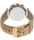 Michael Kors Women's Parker MK5633 Silver Leather Quartz Watch - Back Image Swatch