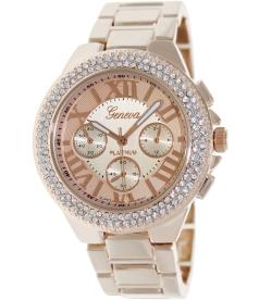 Geneva Platinum Women's 2968.ROSEGOLD Rose-Gold Metal Quartz Watch