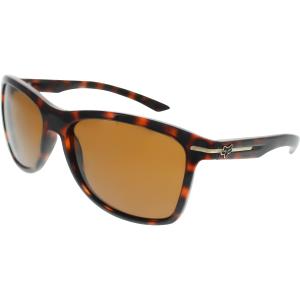 Fox Women's The Double Deuce 07206-903-OS Brown Square Sunglasses