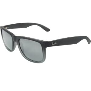 Ray-Ban Men's Justin RB4165-852/88-55 Grey Square Sunglasses