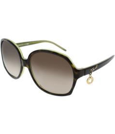 Fendi Women's  5136-216-59 Green Round Sunglasses