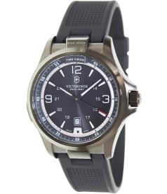 Victorinox Swiss Army Men's 241596 Black Rubber Swiss Quartz Watch