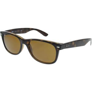 Ray-Ban Men's New Wayfarer RB2132-710-55 Tortoiseshell Wayfarer Sunglasses