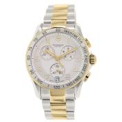 Victorinox Swiss Army Men's Chrono Classic 241509 Silver Stainless-Steel Swiss Quartz Watch