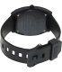Nixon Men's Time Teller P A1191529 Black Plastic Quartz Watch - Back Image Swatch