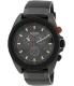 Nixon Men's Rover Chrono A290760 Black Silicone Quartz Watch - Main Image Swatch