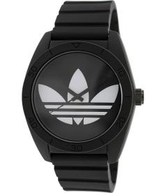 Adidas Men's Santiago ADH6167 Black Rubber Quartz Watch