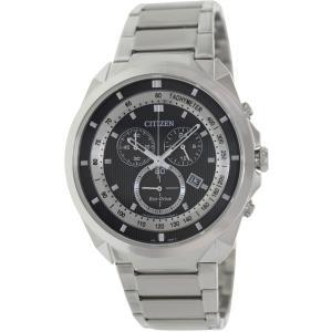 Citizen Men's Eco-Drive AT2150-51E Grey Stainless-Steel Quartz Watch