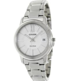Citizen Women's Eco-Drive FE6010-50A Silver Stainless-Steel Quartz Watch