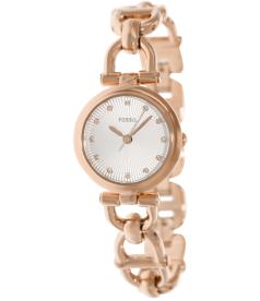 Fossil Women's Olive ES3350 Silver Stainless-Steel Quartz Watch