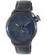 Vestal Men's Canteen CTN3L02 Black Leather Quartz Watch - Main Image Swatch