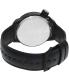 Vestal Men's Canteen CTN3L02 Black Leather Quartz Watch - Back Image Swatch