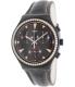 Swatch Men's Irony YCB4024 Black Leather Swiss Quartz Watch - Main Image Swatch