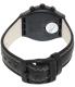 Swatch Men's Irony YCB4024 Black Leather Swiss Quartz Watch - Back Image Swatch
