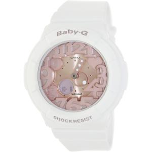 Casio Women's Baby-G BGA131-7B2 Pink Plastic Analog Quartz Watch