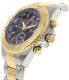 Swiss Precimax Women's Manhattan Elite SP12181 Gold Stainless-Steel Swiss Chronograph Watch - Side Image Swatch