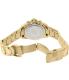 Swiss Precimax Women's Manhattan Elite SP12186 Gold Stainless-Steel Swiss Chronograph Watch - Back Image Swatch
