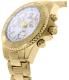 Swiss Precimax Women's Manhattan Elite SP12186 Gold Stainless-Steel Swiss Chronograph Watch - Side Image Swatch