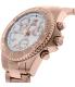 Swiss Precimax Women's Manhattan Elite SP12189 Rose Gold Stainless-Steel Swiss Chronograph Watch - Side Image Swatch