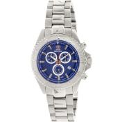 Swiss Precimax Men's Maritime Pro SP12192 Blue Stainless-Steel Swiss Chronograph Watch
