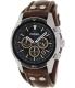 Fossil Men's Coachman CH2891 Brown Leather Quartz Watch - Main Image Swatch