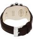 Fossil Men's Coachman CH2891 Brown Leather Quartz Watch - Back Image Swatch