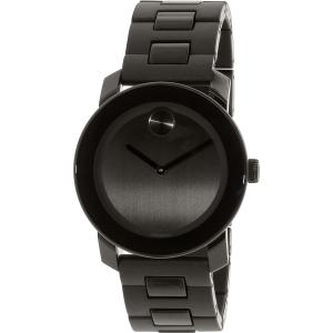 Movado Men's Bold 3600047 Black Stainless-Steel Swiss Quartz Watch