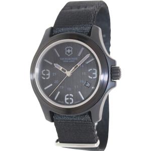 Victorinox Swiss Army Men's Original 241517 Black Nylon Swiss Quartz Watch