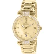 Precimax Women's Siren Diamond PX13334 Mother-Of-Pearl Stainless-Steel Quartz Watch