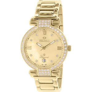 Precimax Women's Siren Diamond PX13334 Gold Stainless-Steel Quartz Watch