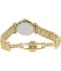 Precimax Women's Siren Diamond PX13334 Gold Stainless-Steel Quartz Watch - Back Image Swatch