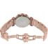 Precimax Women's Siren Elite PX13338 Rose Gold Stainless-Steel Quartz Watch - Back Image Swatch