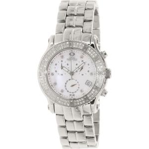 Swiss Precimax Women's Tribeca Elite SP13322 Silver Stainless-Steel Swiss Chronograph Watch