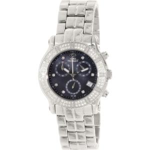 Swiss Precimax Women's Tribeca Elite SP13325 Silver Stainless-Steel Swiss Chronograph Watch