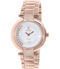 Swiss Precimax Women's Allure SP13353 Mother-Of-Pearl Stainless-Steel Swiss Quartz Watch