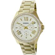 Fossil Women's Cecile AM4482 Beige Stainless-Steel Quartz Watch