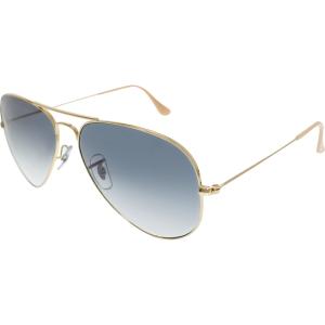 Ray-Ban Men's Aviator RB3025-001/3F-58 Gold Aviator Sunglasses