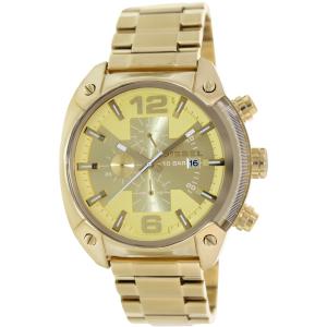 Diesel Men's Overflow DZ4299 Gold Stainless-Steel Quartz Watch