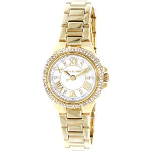Michael Kors Women's Camille MK3252 White Stainless-Steel Quartz Watch