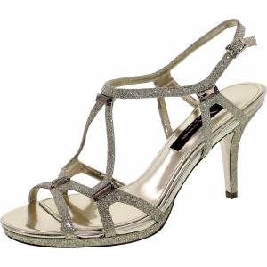 Nina Women's Baylyn Low Top Satin Sandal